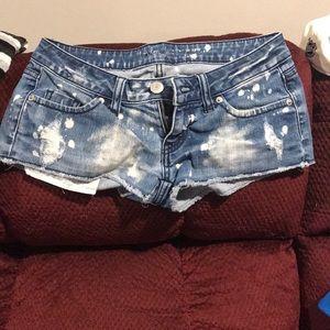 London Jean short shorts